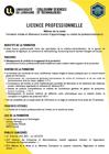 Licence professionnelle métallurgie parcours traitement des alliages