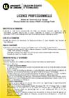 Licence professionnelle Mention : Maintenance des Systèmes Industriels, de Production et d'Énergie, Parcours : Méthodes et Outils pour la Maintenance IntelligentE (MOMIE)