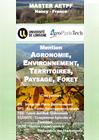 Plaquette Master Agrosciences, Environnement, Territoires, Paysage, Forêt