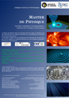 Plaquette Master Physique