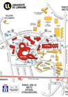 Plan du Campus Aiguillettes